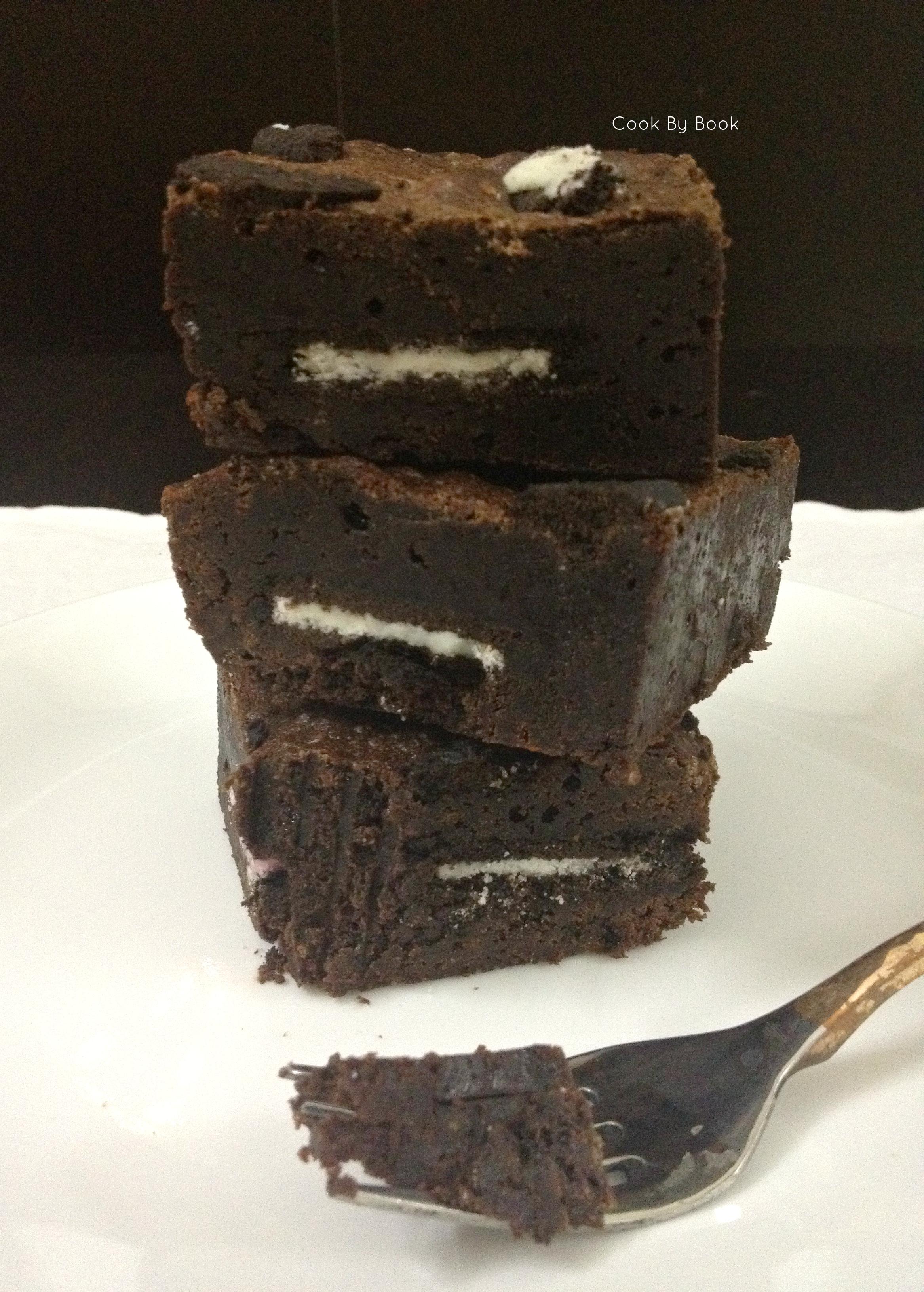 Oreo Chocolate Brownies1