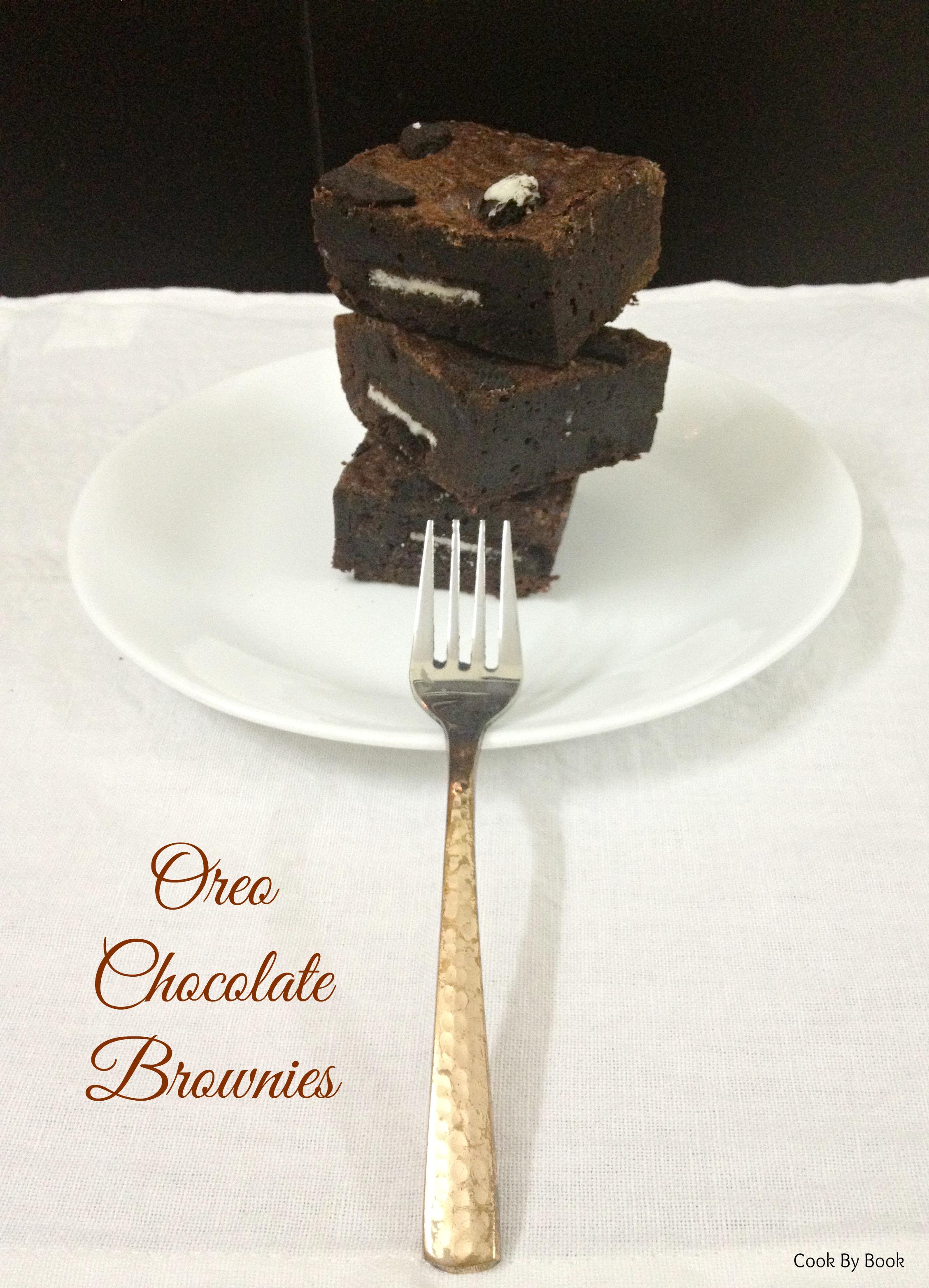 Oreo Chocolate Brownies3