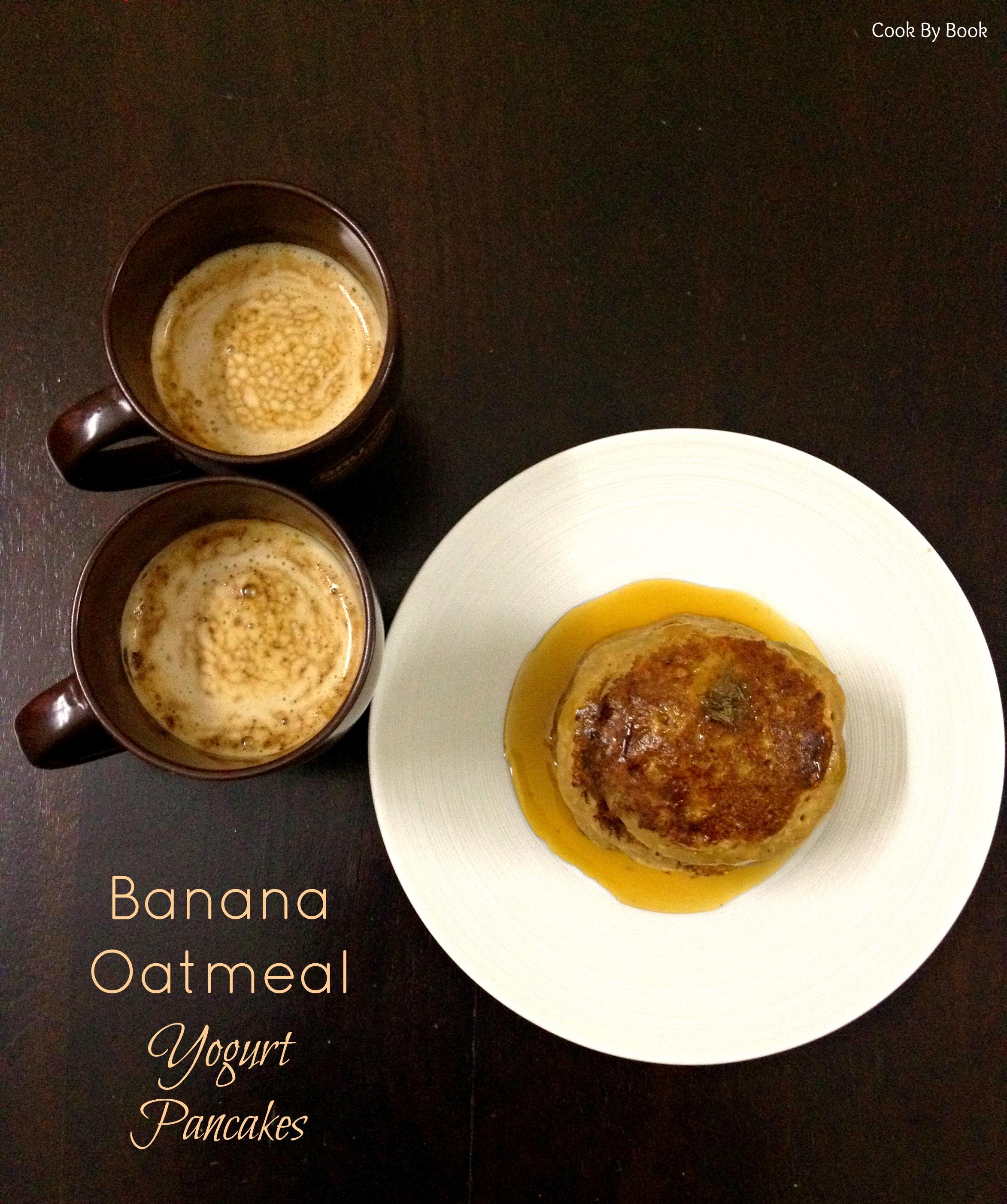 Banana Oatmeal Yogurt Pancakes1