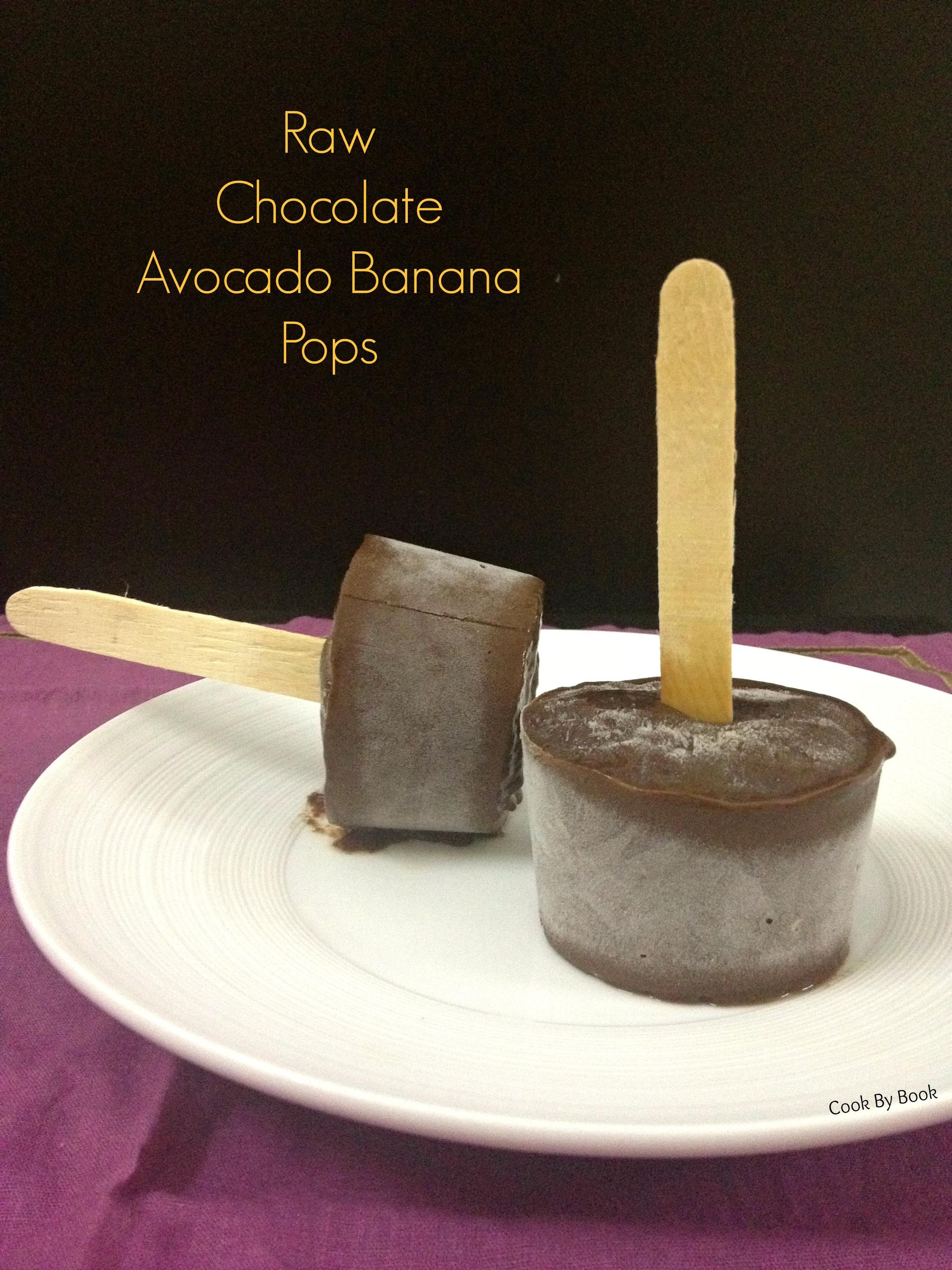 Raw Chocolate Avocado Banana Pops1