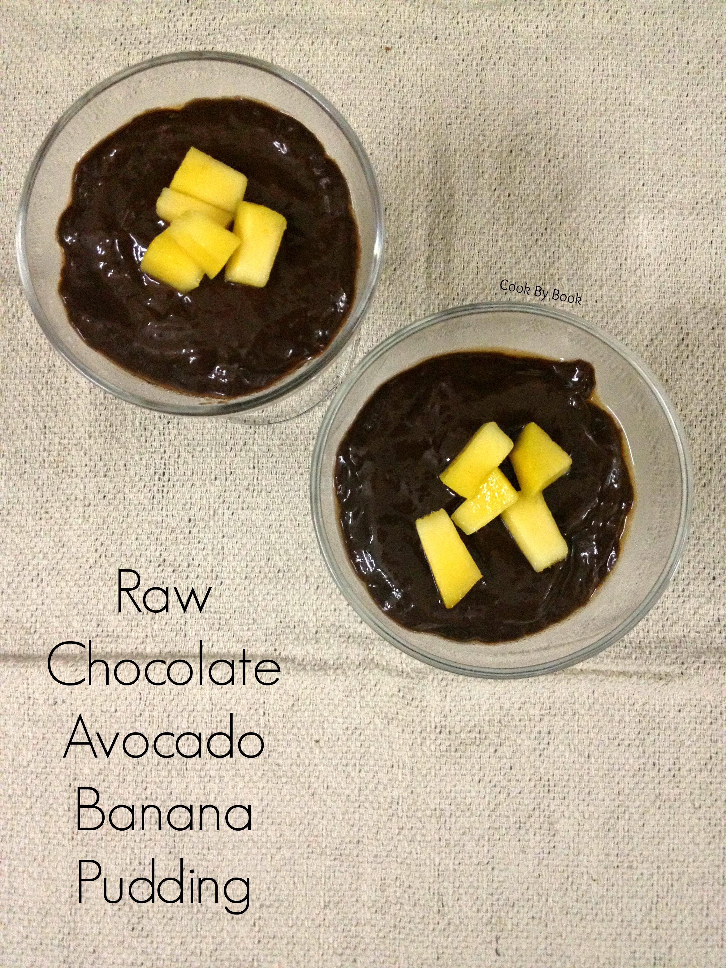 Raw Chocolate Avocado Banana Pudding1