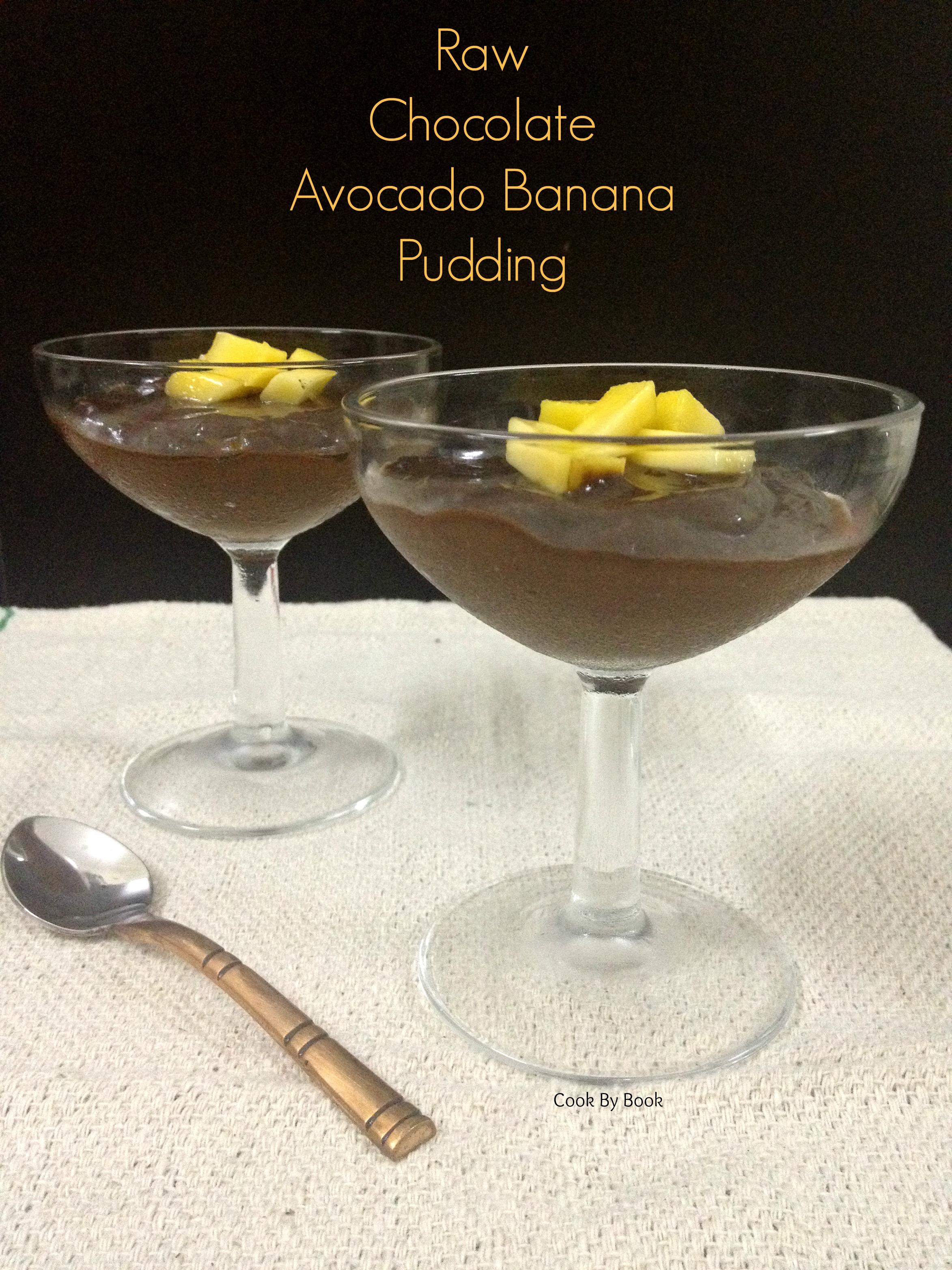 Raw Chocolate Avocado Banana Pudding2
