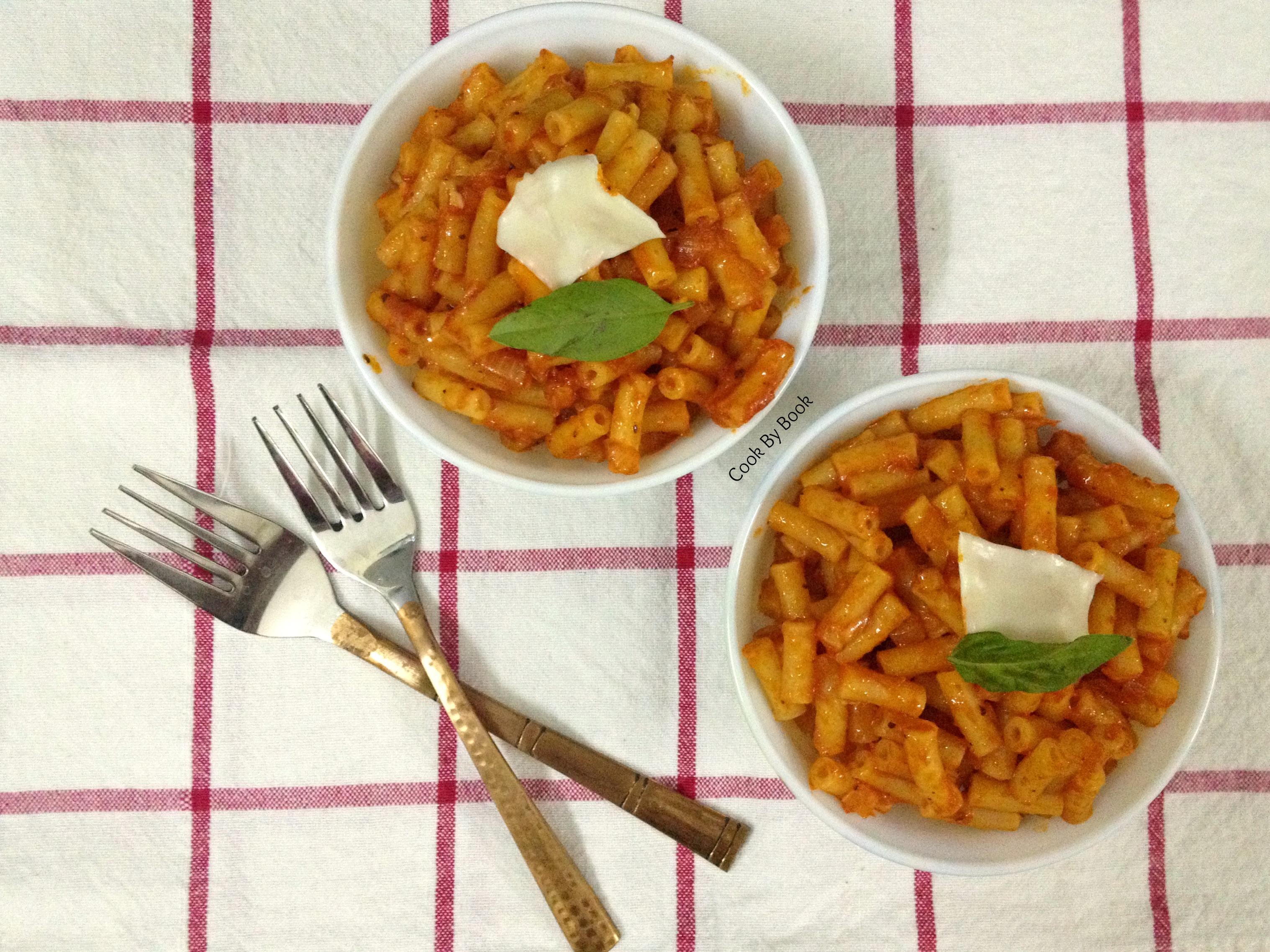 5-Minute Tomato Pasta Sauce2