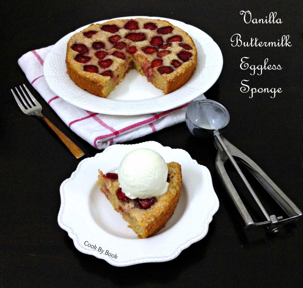 Eggless Sponge Cake Recipe Buttermilk